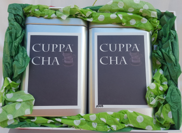 double black tea gift box